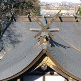 西玉神社の葵の御紋〜徳川家康ゆかりの地  平町