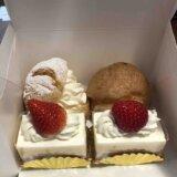 銀座ウエスト日野工場直売所のケーキを食べて