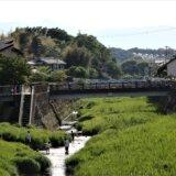 バクに似た流域で親しまれる鶴見川を歩く